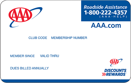 AAA Basic Membership card preview
