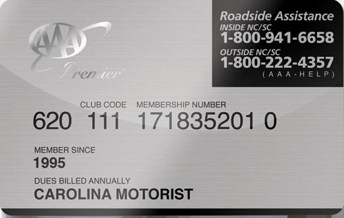 AAA Basic Membership card preview